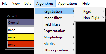 Algorithms menus